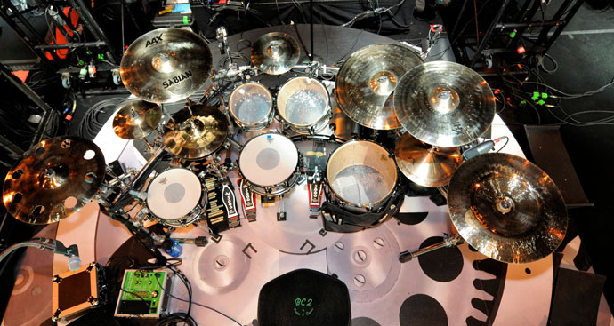 Drumset mag » nickelback