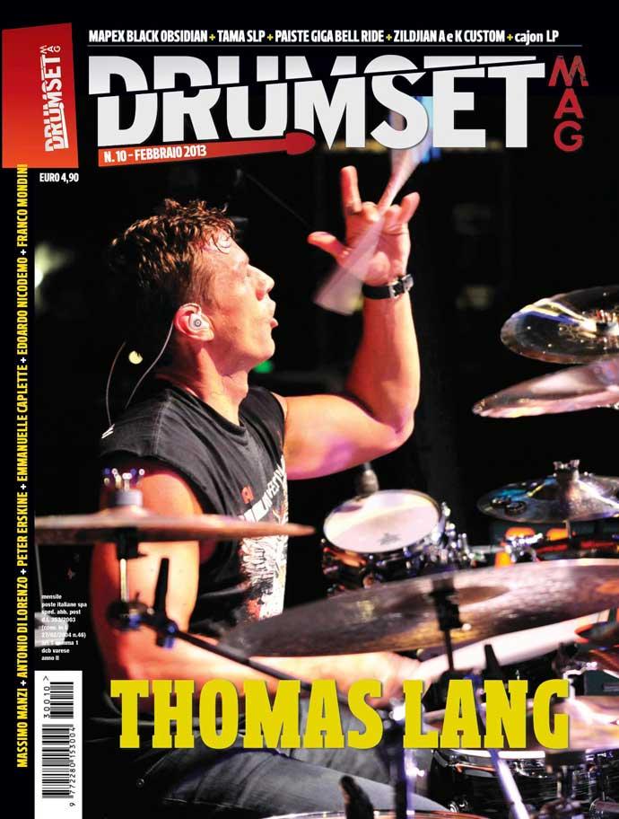 Drumset-Mag-Febbraio 2013-Cover