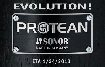 NAMM 2013 - Sonor Protean Gavin Harrison Snare