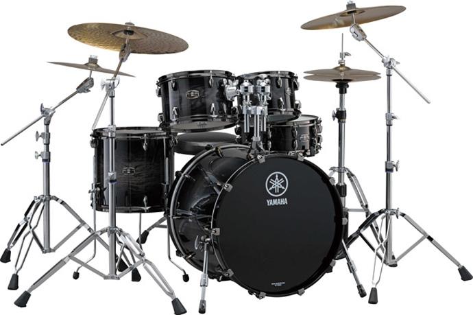 Yamaha-Black-Shadow-Sunburst-Set