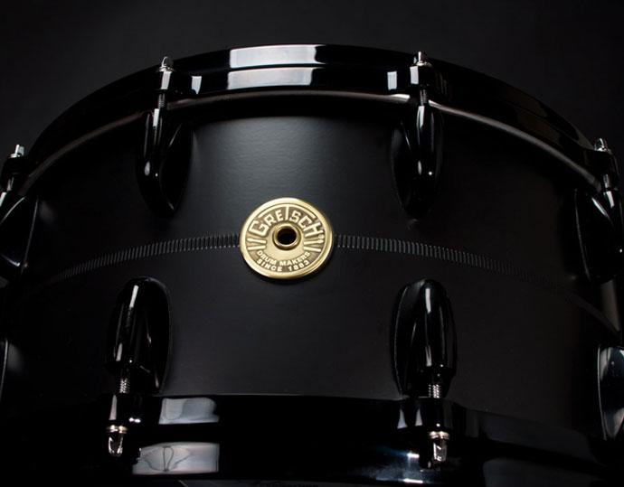 Flat-Black-Solid-Aluminum-Snare