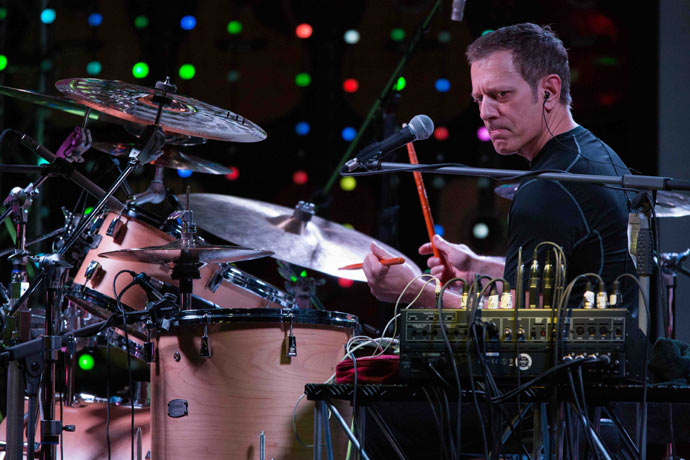 Dave Weckl in Clinic