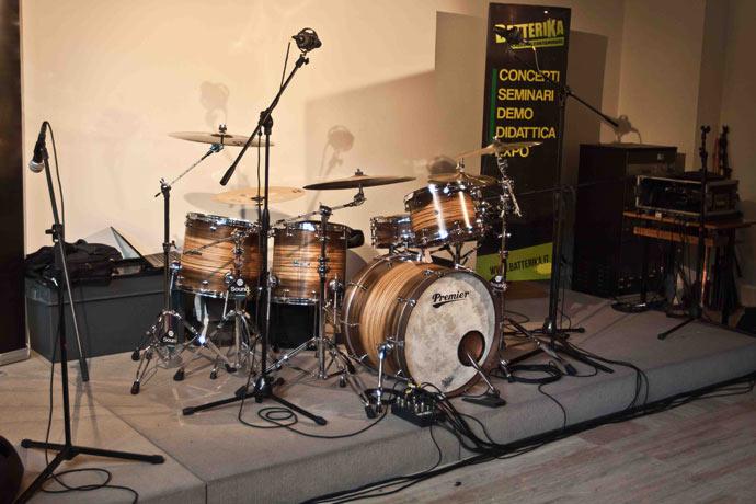 Zac's Drum Kit by Sergio Gualtieri