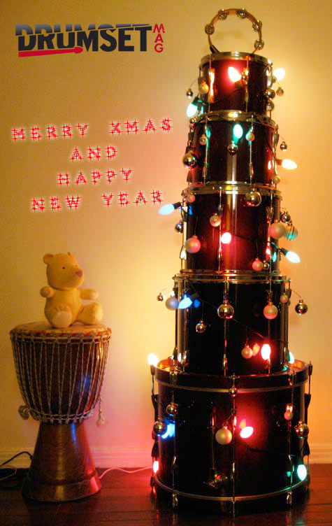 Merry Christmas & Happy New Year da Drumset Mag