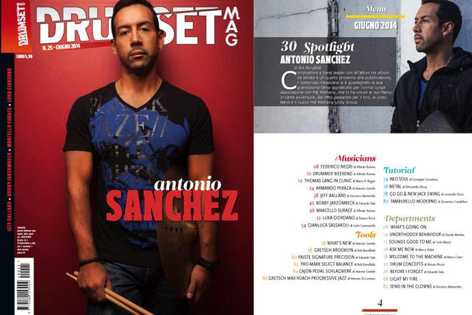 Drumset Mag n. 25 - Giugno 2014: Il Menù