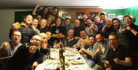 La Cena dei batteristi di Milano 2014 - Beat It