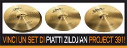 Concorso Zildjian 2015 - Aggiungi la tua batteria sulla base e vinci un set di Piatti Zildjian!